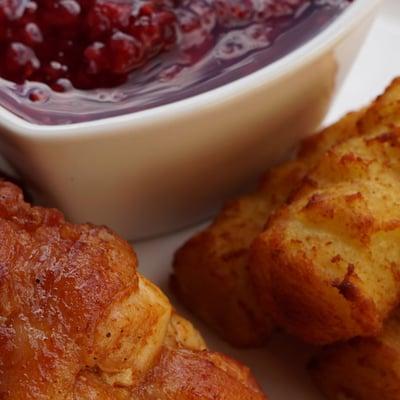 Baconnel font ízletes csirkemell