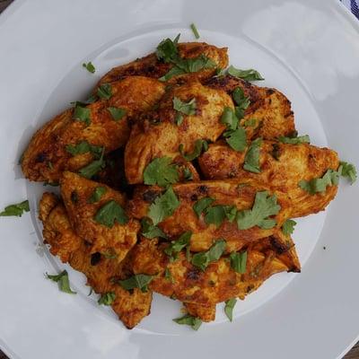 Marokkói csirkefalatok