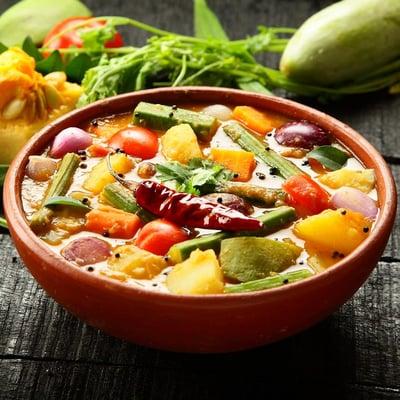 Zöldség curry