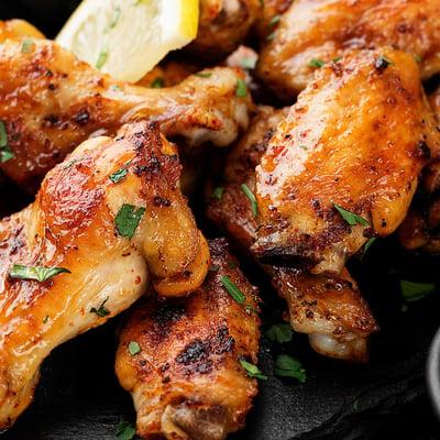 Sült csirkeszárnyak