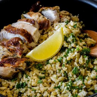 Csirkemell curry karfiolrizzsel