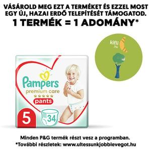 Pampers Premium Care Bugyipelenka 12-17 kg (5-ös méret)