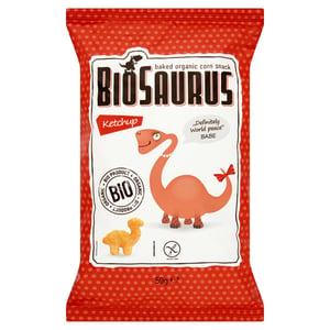 Kukoricás BIO snack, ketchupos 'BioSaurus Babe'