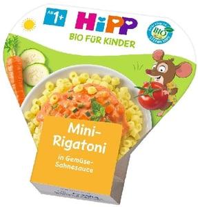 Hipp Bio Mini Rigatoni zöldséges-tejszínes szószban