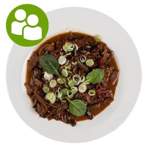 MEATOLOGY GO FOR 2 / Teriyaki csirke, wok zöldségek (700g)