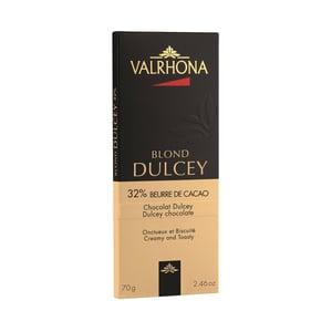 Valrhona Dulcey 32% táblás szőkecsokoládé
