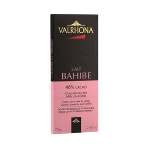 Valrhona Bahibé 46%-os táblás tejcsokoládé
