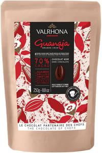 Valrhona Guanaja 70% étcsokoládé pasztilla