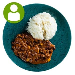 Chili con carne rizzsel (450g)