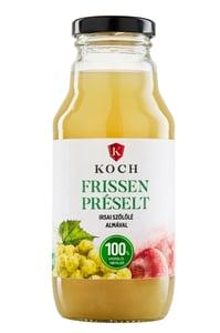 Koch Frissen préselt Irsai szőlőlé almával