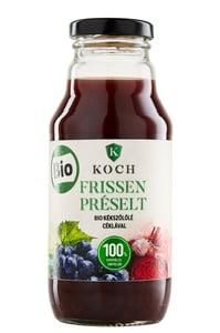 Koch Frissen préselt BIO Kékszőlőlé céklával