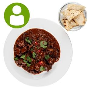 MEATOLOGY  GO / Chili con carne, kukorica tortilla (500g)